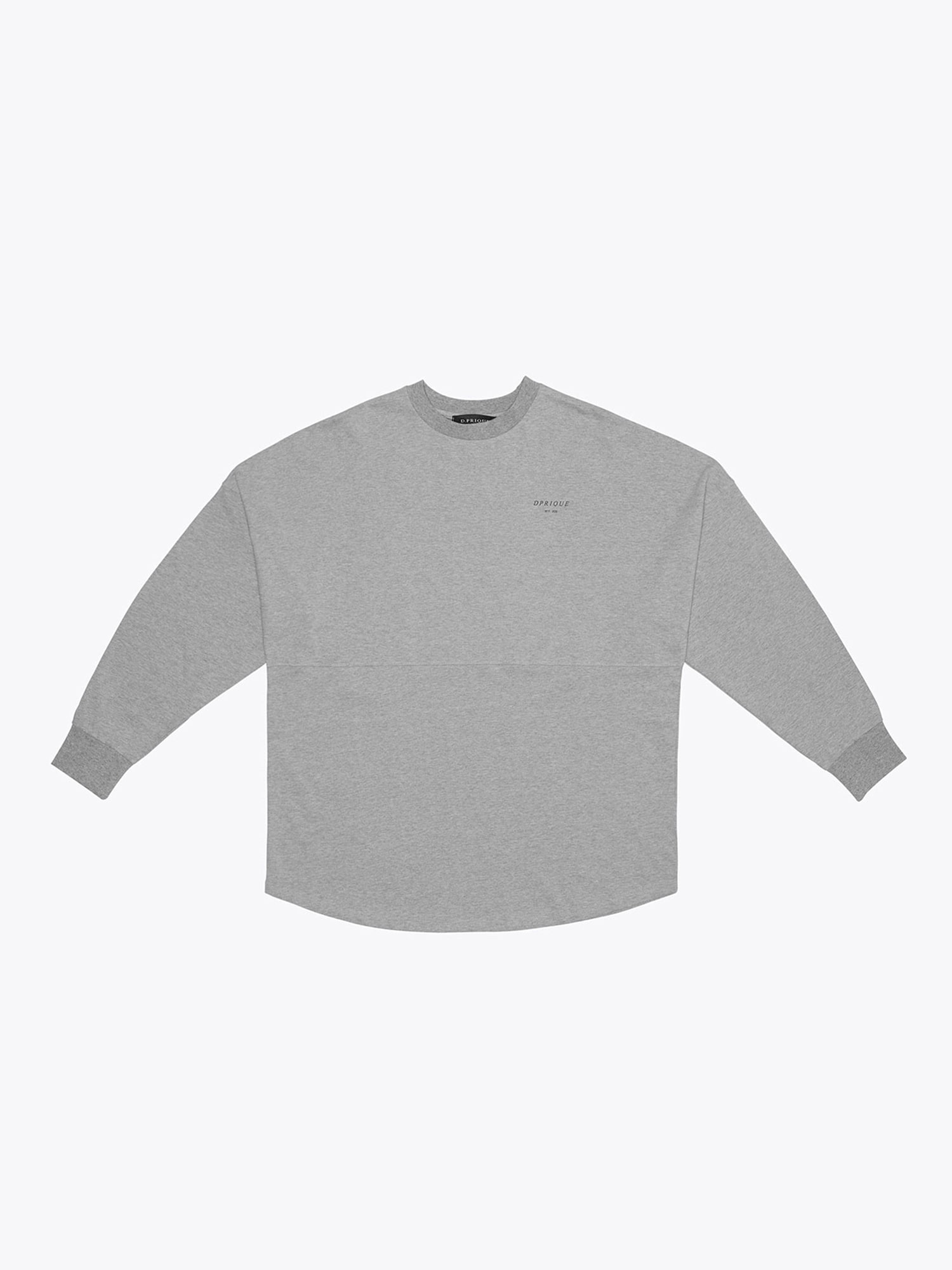Crew Neck T-Shirt- Grey