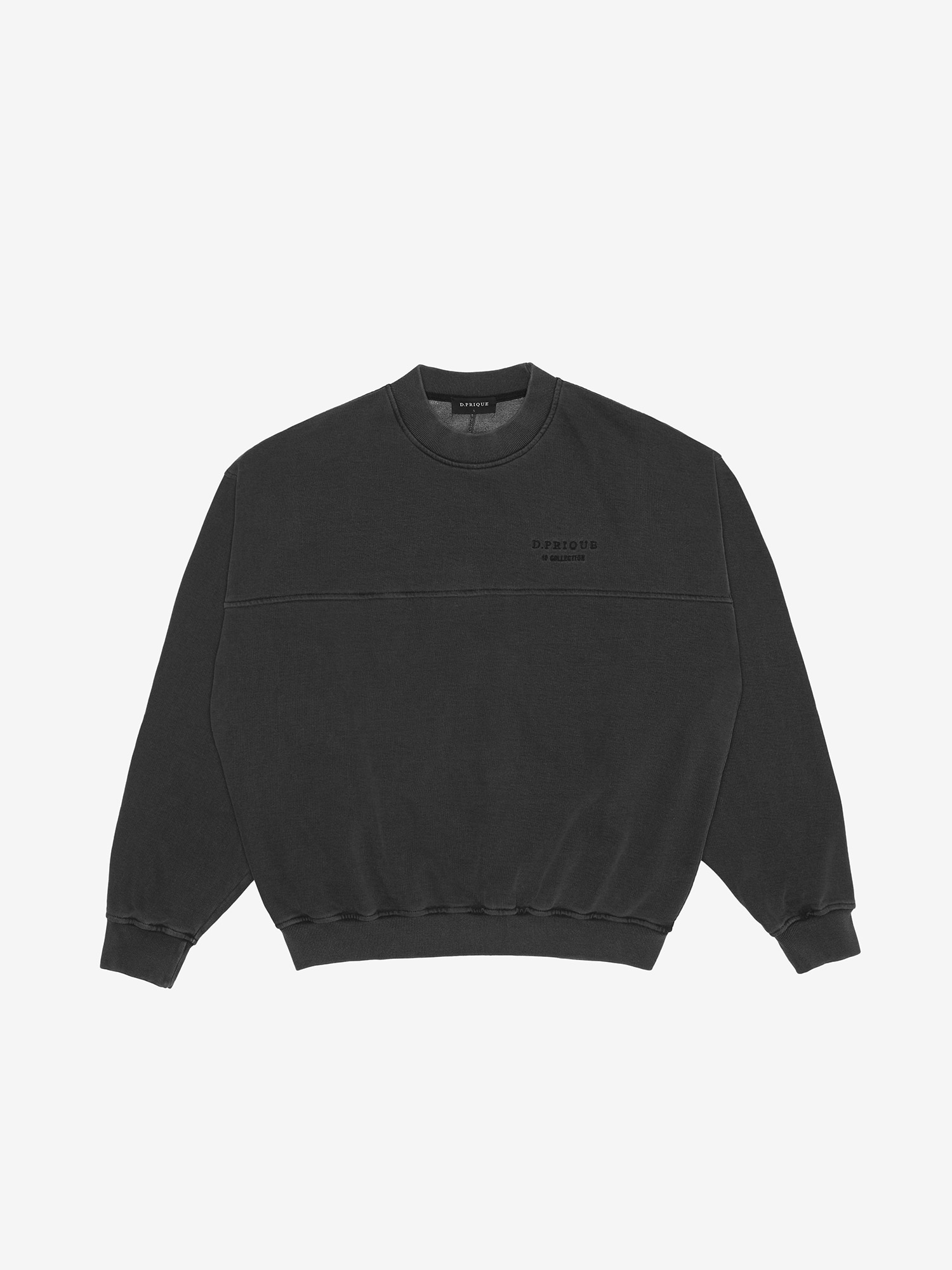 WASHED SWEATSHIRT - Black