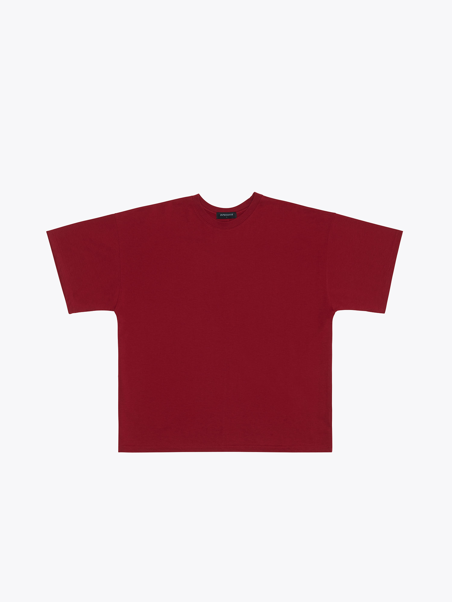 05 Oversized T-Shirt - Red