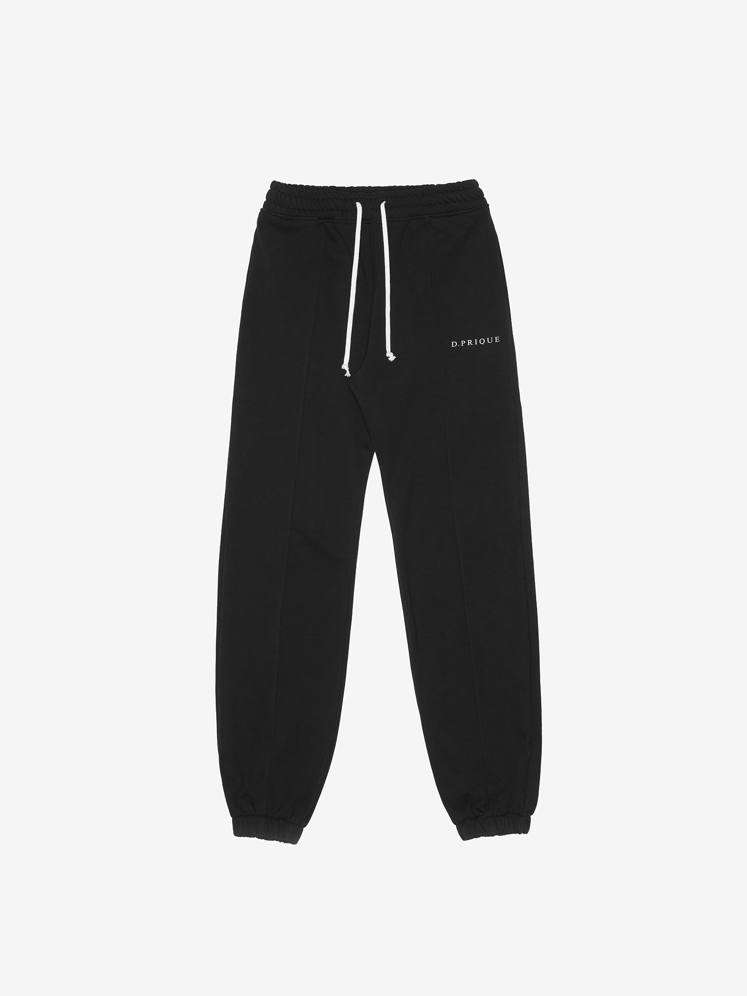 LOGO LOUNGE PANTS - Black
