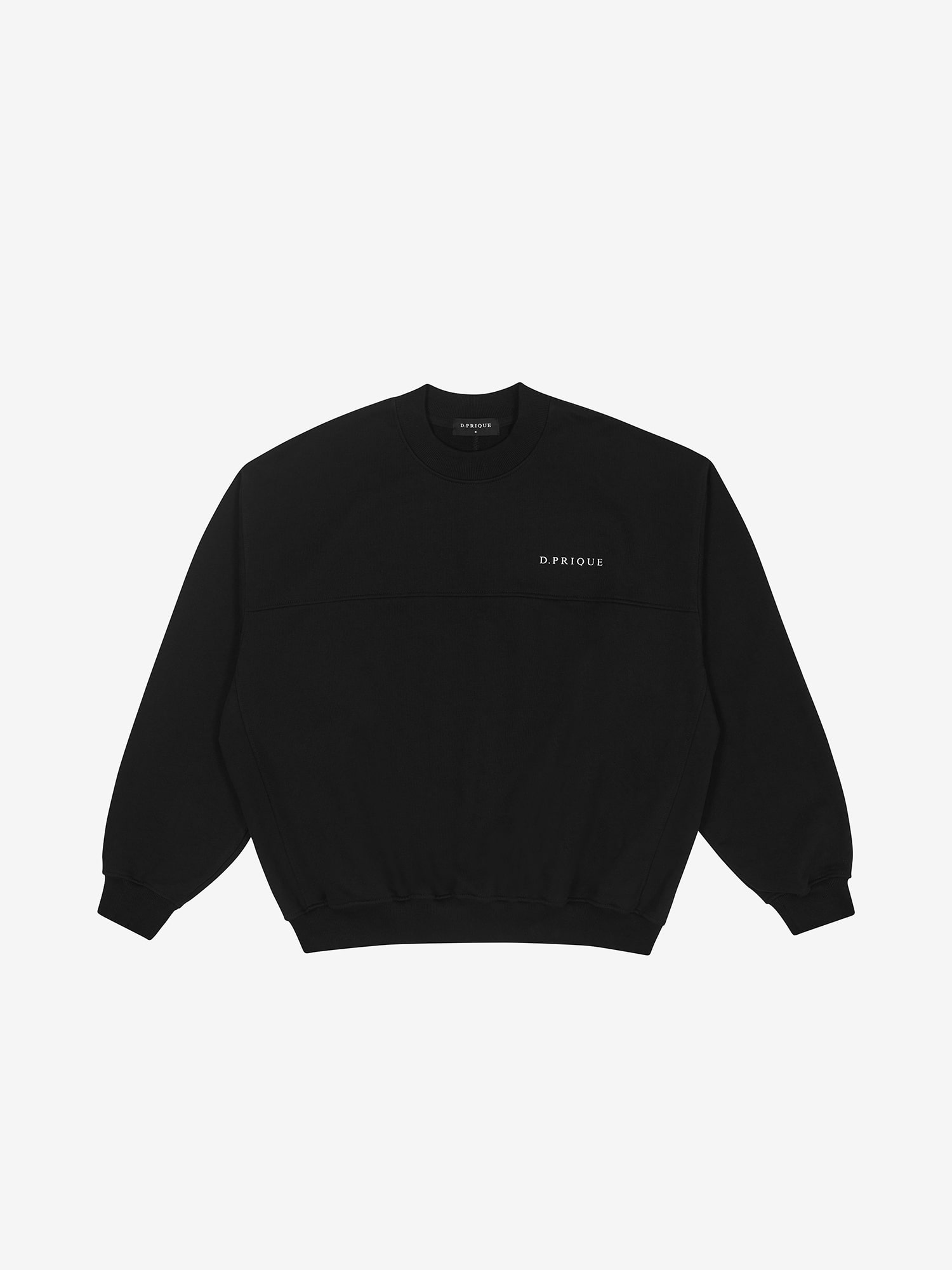 OVERSIZED LOGO SWEATSHIRT - BLACK