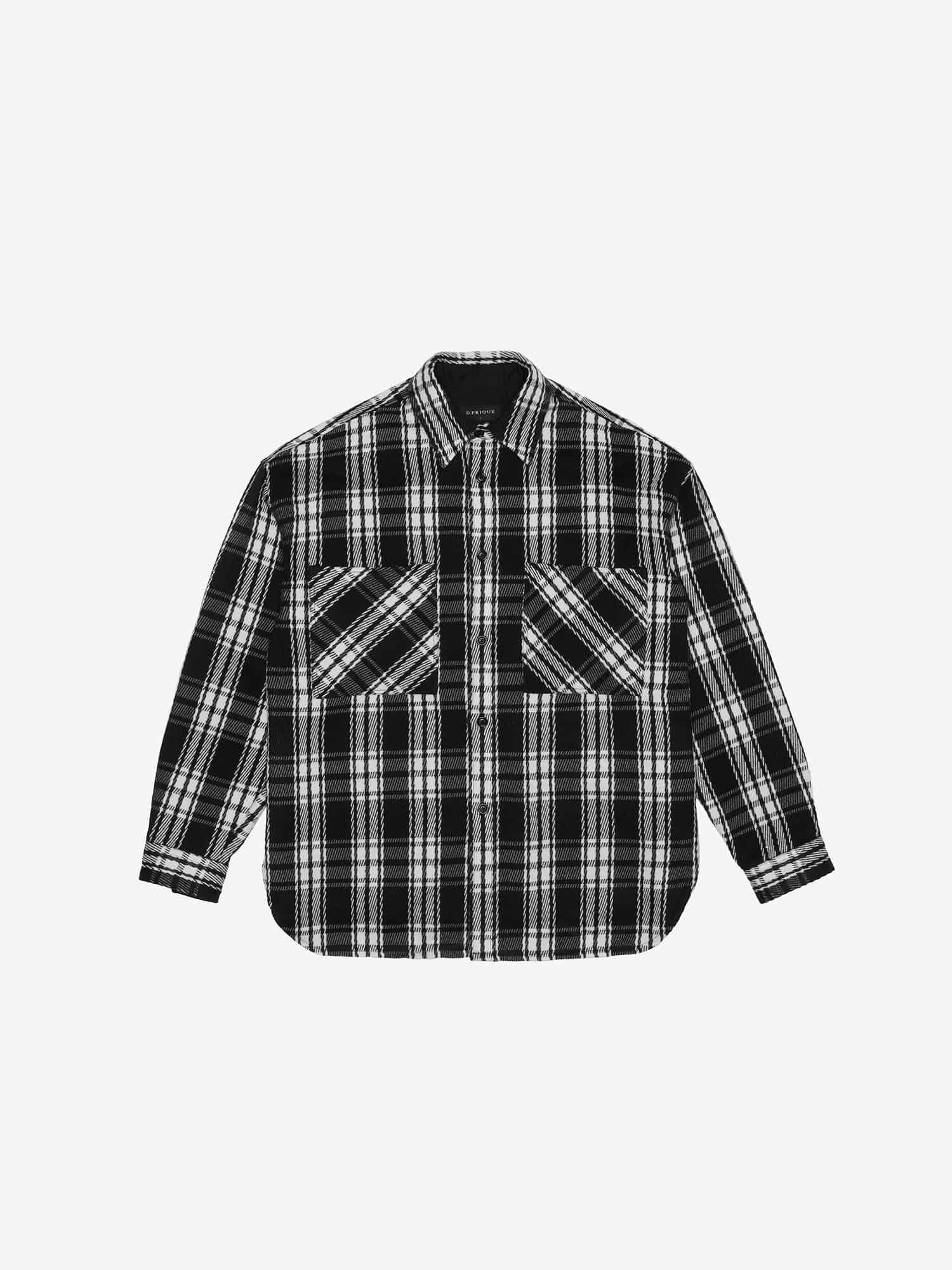 OVERSHIRT JACKET - Black
