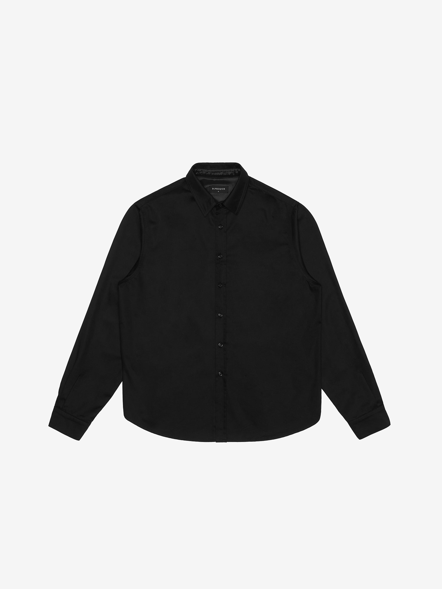 COTTON TWILL SHIRT - Black